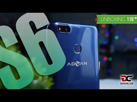 UNBOXING ADVAN S6, Ponsel Terjangkau Kekinian!!