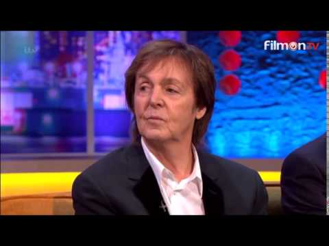 Paul McCartney in the Jonathan Ross Show