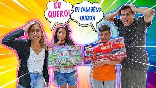 VIRAMOS PAIS POR UM DIA!! - (FICAMOS POBRES) - KIDS FUN
