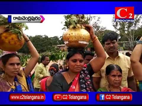 SRD BHEL : బోనాల సాంస్కృతిక కార్యక్రమం నిర్వహించిన టెంపుల్ అఫ్ ఆర్ట్స్ ఛైర్మెన్ | 04-08-2018