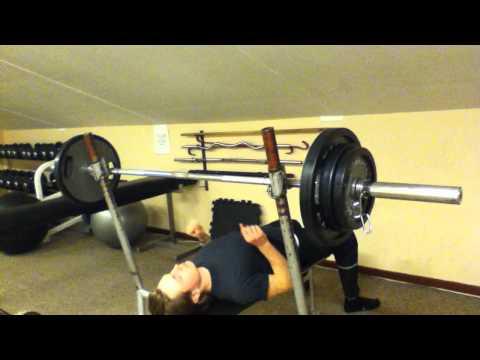 Benchpress 90 kg like a baws