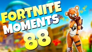 WORLD RECORD SNIPER SHOT! (368M MID-AIR FLYING) | Fortnite Daily Funny and WTF Moments Ep. 88
