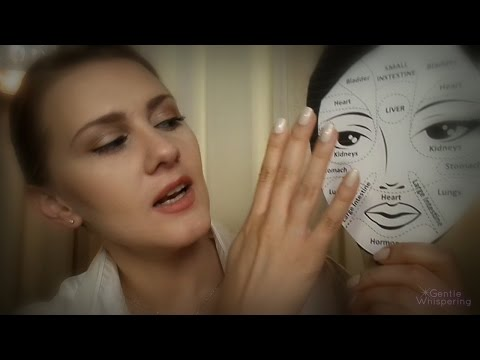 (•^.^•) Face Mapping for your Napping (•^.^•) ASMR Role Play