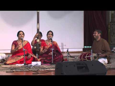 Devi Navaratri 2013 ~ Carnatic Vocal duet by Vid. Smt. Ranjani & Vid. Smt. Gayatri