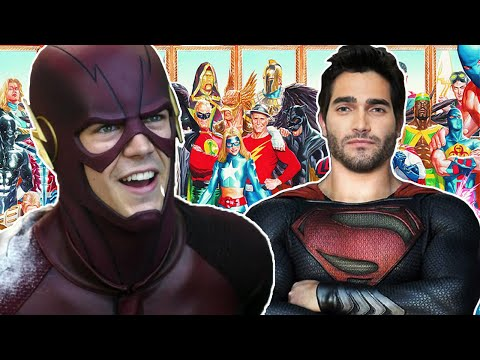 The Flash Season 3 Superman Justice Society of America Crossover Explained!