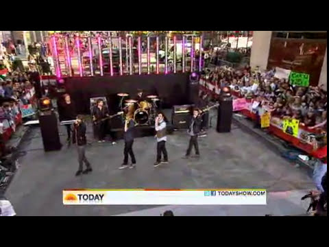 Big Time Rush - Big Night ( Live Today Show 10/11/2010 )