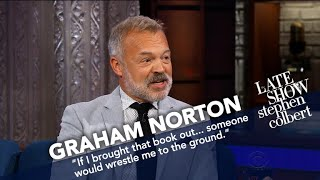 Graham Norton Compares His Show With Stephen