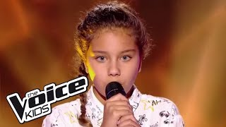 Ilyana 34 Dernière Danse 34 Indila The Voice Kids France 2017 Blind Audition
