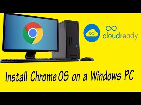 How to install Chrome OS on PC Laptop 2018