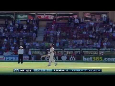 Virat Kohli 100 vs Australia 2014-15