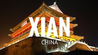 XIAN OLD WALL AND MUSLIM QUATER, SHAANXI, CHINA