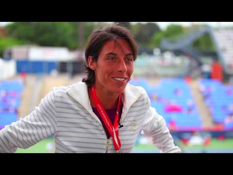 Francesca Schiavone At The 2010 Rogers Cup