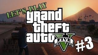 Let's Play Grand Theft Auto 5 (GTA V) #3 - Workplace Politics