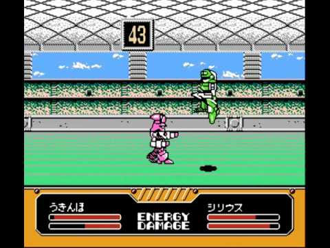 Datach Battle Rush Build Up Robot Tournament Famicom