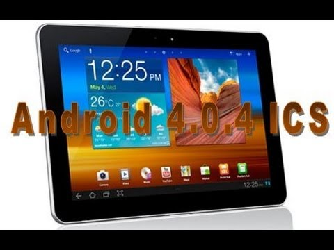 Galaxy Tab 10.1 com Android ICS 4.0.4 [P7500]