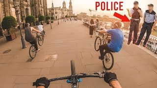 URBAN STREET MOUNTAIN BIKING DRESDEN *POLICE* - Rose Bikes The Bruce 3 - Lukas Knopf