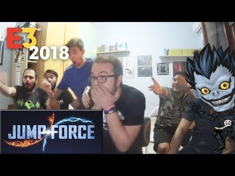 Jump Force LIVE Reaction - E3 2018 MICROSOFT