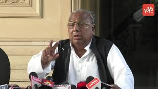 V Hanumantha Rao Unsatisfied With Telangana Congress Committees | Ghulam Nabi Azad