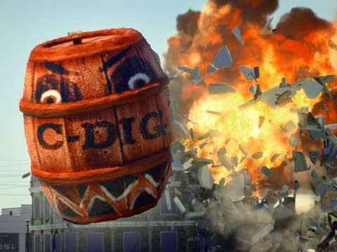 Angry Barrels, un real y peligroso clon de Angry Birds