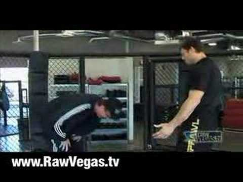 Forrest Griffin Kicks Newby Video