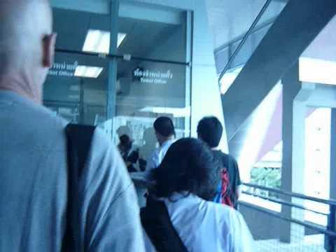 Airport Link Bangkok Suvarnabhumi parte 1