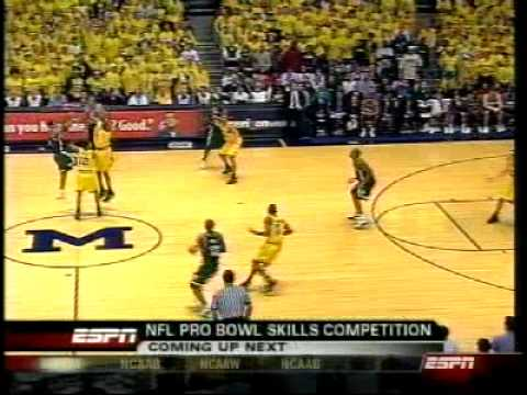 Michigan State Spartans Basketball v Michigan '05 Game 2 Video