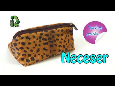 92. RECICLAJE DE TELA (LAPICERO-NECESER-ESTUCHE) DIY CASE BACK TO SCHOOL