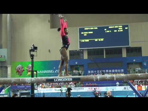 BEAUTIFUL NEWS: Black Gymnast Simone Biles Named Sportswoman Of The Year [VIDEO]