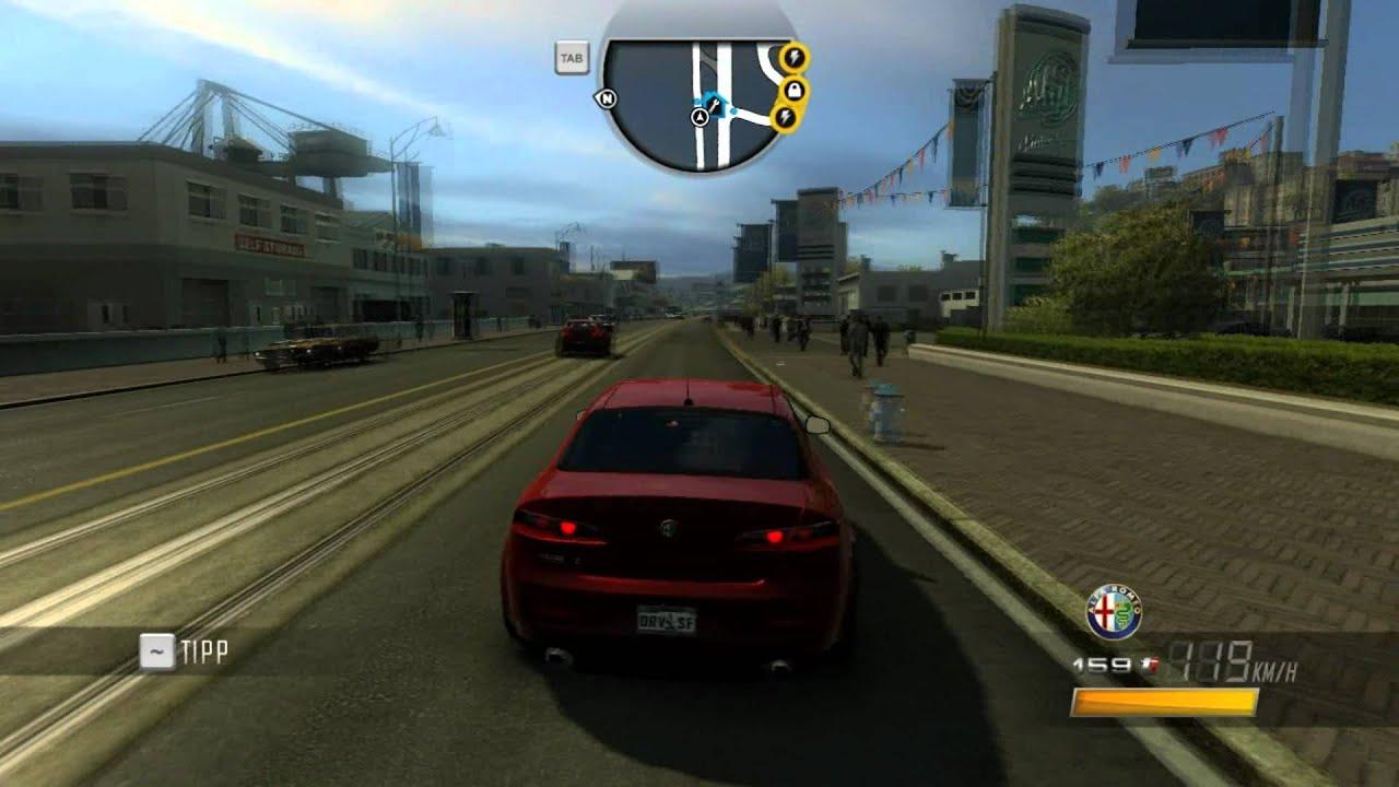 Alfa Romeo Car Game