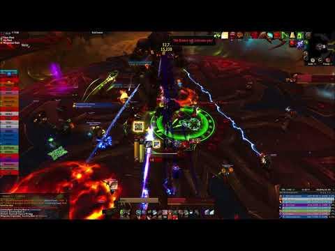 Antorus the Burning Throne: Aggramar HC Arms Warrior PoV