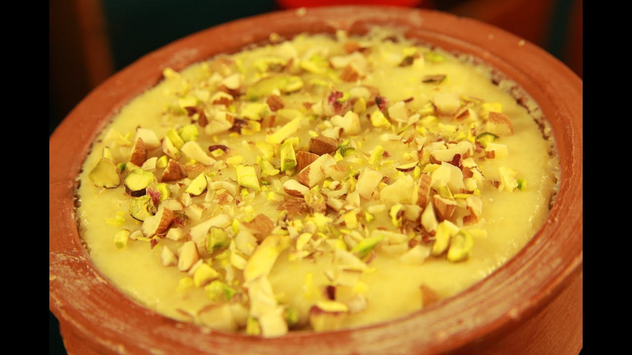How To Make Phirni (Rice Pudding) By Archana - YouTube