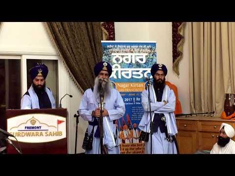 Bhai Mehal Singh ji, Chandigarh in Guruduara Sahib Fremont, California. USA.
