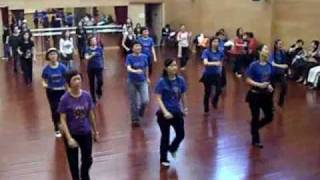Kung Fu Fighting Line Dance