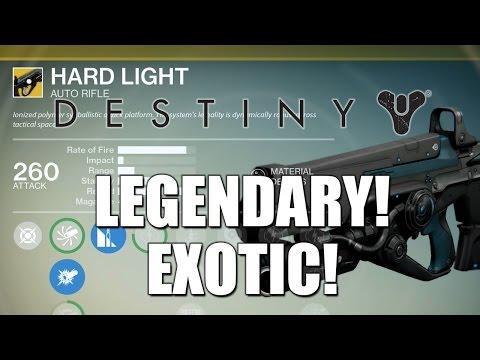 How to get RARE/LEGENDARY/EXOTIC Equipment in DESTINY! (Destiny LEGENDARY ARMOR Gameplay NEW)