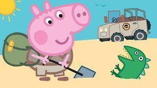 Peppa Pig Nederlands Compilatie Nieuwe Afleveringen ⭐ Mr de dinosaurus is kwijt ⭐ Tekenfilm