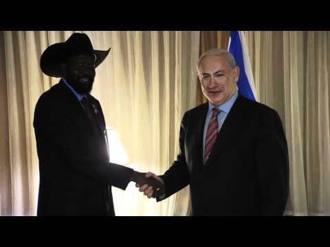 PM Netanyahu met Salva Kiir, President of South Sudan