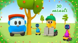 Leo il camion ed i veicoli | Cartoni animati per i bambini COMPILATION