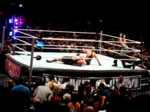 WWE Supershow 6-19-10 MSG Jack Swagger vs Big Show WHC No DQ Part 2 Video