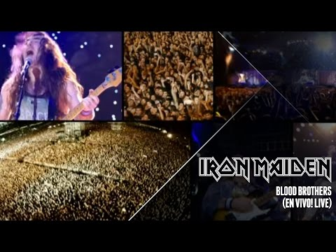 Iron Maiden - Blood Brothers (Live In Santiago)