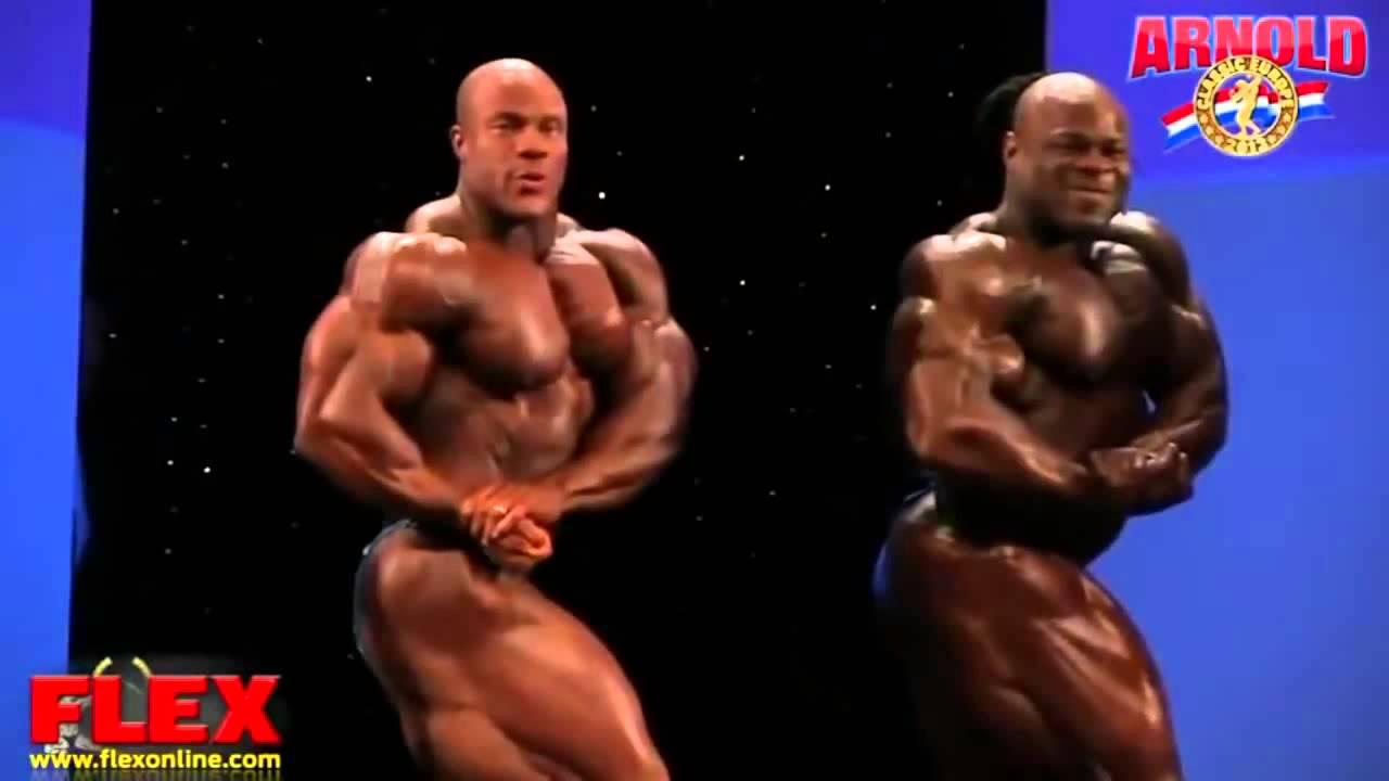Phil Heath and Kai Greene Fight on Stage - YouTube