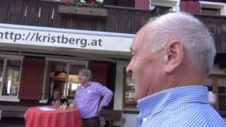 """Glockenspiel und Gesang """"In die Berg bin i gern"""" von Adolf & Günter Zudrell am Kristberg"""