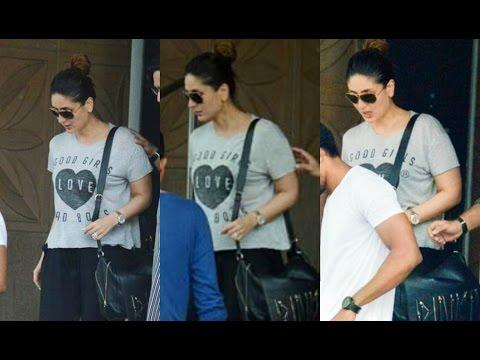 Pregnant Kareena Kapoor Visit Saif Ali Khan At Hospital