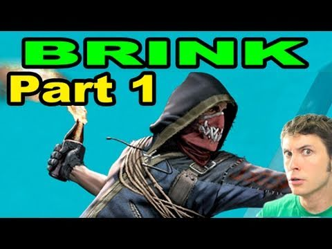 Brink - CHARACTER CUSTOMIZATION - Part 1