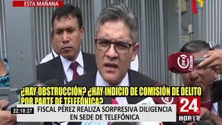 Fiscal Pérez pedirá que se redoble seguridad en despacho fiscal tras filtración de preacuerdo