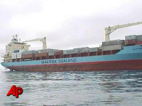 Hijackers on Cargo Ship: 'They Ran'
