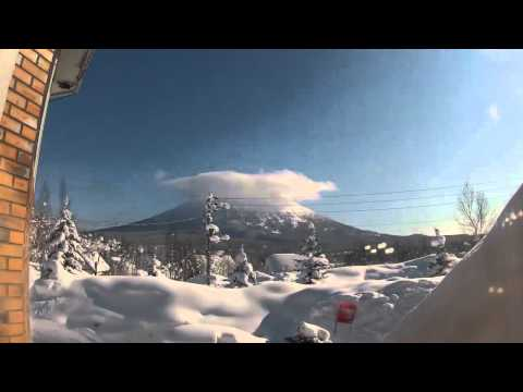 12 Days in Niseko Japan - Powder Skiing 2012