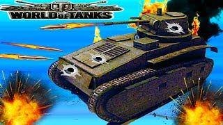 WORLD OF TANKS #12 Танковая игра Leichttraktor Немецкая  ветка.Первые бои.Новое видео для детей