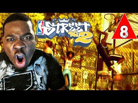NBA Street Vol 2 Gameplay Walkthrough Part 8 - He Scored Half the Points - Lets Play NBA Street