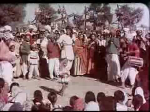 Mohammad Rafi sahab Shamshad Lata Manna Dey  song Dukh Bhare Din Beete Re Film Mother India