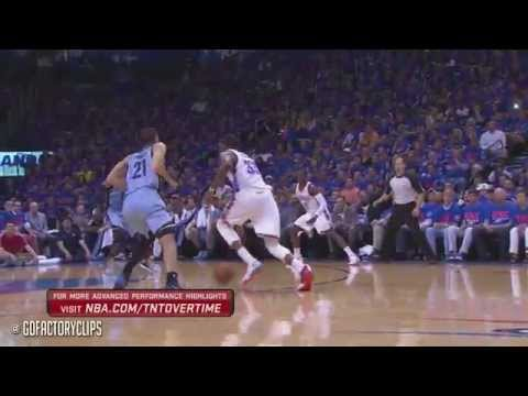 Kevin Durant Full Highlights vs Grizzlies 2014 Playoffs West R1G7 - 33 Pts